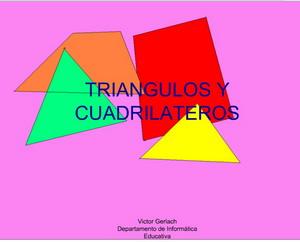 Clasificación de triángulos y cuadriláteros